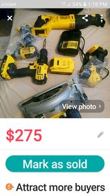 Cordless Dewalt Combo. in Houston, Texas