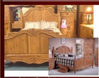 Beautiful Oakwood interior Bedroom set in Fort Campbell, Kentucky