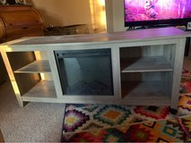 Tv Stand with electric Fireplace in Joliet, Illinois