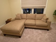 Golden Wheat Two Piece Sectional in Joliet, Illinois