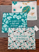 "NEW Set of 3 ""Thrive Causemetics""  cosmetic bags in Westmont, Illinois"