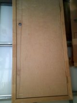 Attic access or furnace solid wood door in Alamogordo, New Mexico