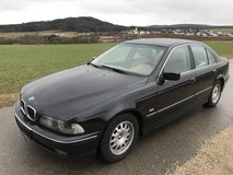 BMW 523 i 6 cylinder leather winter and summer tyres brand new inspection free delivery in Hohenfels, Germany