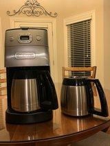 Cuisinart programmable thermal coffee maker in Bolingbrook, Illinois