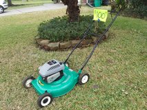 Easy Start Mower, starts right up in Houston, Texas