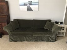 Ethan Allen slipcover couch w/3 slipcovers in Wilmington, North Carolina