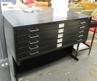 Safco Flat File with Base in Naperville, Illinois