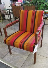 Pair of MCM Striped Chairs by Alma in Naperville, Illinois