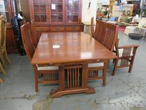 Nichols & Stone Dining Set and China Cabinet in Naperville, Illinois
