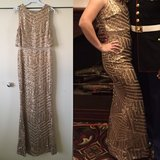 Gold Formal Dress/Gown in Okinawa, Japan