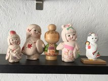 Japanese Kokeshi Dolls in Stuttgart, GE