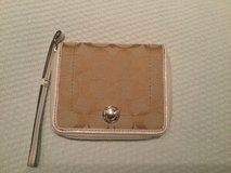 Coach Wristlet with white trim in Ramstein, Germany