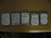 Laptop & Notebook Sata HDDs (5 count) in Houston, Texas