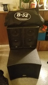 B52 Speaker Set & Cover includes all wires & plugs in Joliet, Illinois