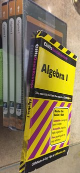 THE GREAT COURSES: Algebra I,  3 Parts, 6 DVDs. New. Sealed. in Byron, Georgia