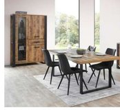 United Furniture - Onno Dining Set - (China+Table+Chairs+Delivery) - with Sideboard $1970 in Spangdahlem, Germany