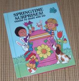 Vintage 1986 Springtime Surprises Things To Make and Do Hard Cover Book of Fun and Creative Ideas in Chicago, Illinois