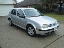 Safe/ Simple. 2001 VW GOLF in The Woodlands, Texas