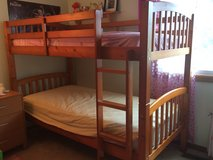 Bunk bed in Naperville, Illinois