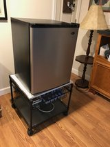 Small fridge with stand in Aurora, Illinois