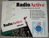 Vintage RadioActive FM Stereo Board for PC in Yorkville, Illinois