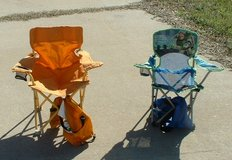 2 camp chairs / chair / toddler / kid in Macon, Georgia