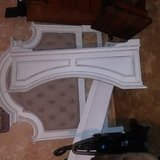 Head board with sides and foot board and a lift chair all brand new from irvan smith in Leesville, Louisiana