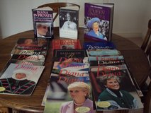 Royal family and cookery books.40 books in total in Lakenheath, UK