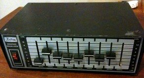 "vintage Kustom 9-band equalizer, mono with 1/4"" I/O in Tacoma, Washington"