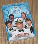 The Love Boat Seaso One Volume 1 DVD 3-Disc Set in Yorkville, Illinois