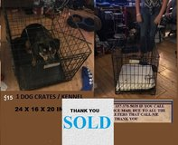 DOG KENNEL / CRATE in Leesville, Louisiana