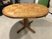 Solid Oak Kitchen Table in Bolingbrook, Illinois