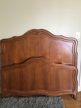 Full Size Maple Bed - Headboard, Footboard and Frame in Bolingbrook, Illinois