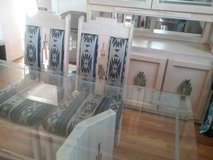 Dining Room Table (6 chairs) and Hutch more info can be emailed upon request in Yorkville, Illinois