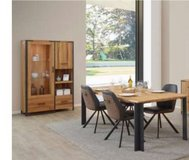 United Furniture - Hamburg Dining Set (China + Table 200 + 4 Chairs mod.ST1902 + Delivery) in Spangdahlem, Germany