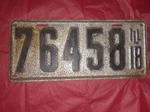 Antique & Mixed lot license plates in Aurora, Illinois