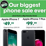 Switch Over to Cricket Wireless 6946 W CERMAK RD & Get a Iphone 7 $49.99 On the Unlimited $60.00 in Westmont, Illinois