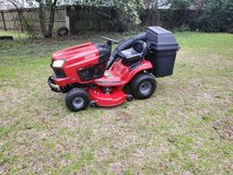 Craftsman 46 Inch Cut Riding Lawn Mower With Bagger! in Byron, Georgia