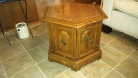 Six sided end table in Kingwood, Texas