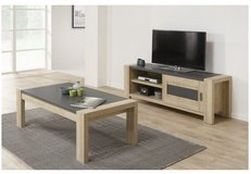 United Furniture - Hermes Coffee Table and TV Stand with Sliding Doors including delivery in Wiesbaden, GE