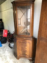 antique corner cabinet in Ramstein, Germany
