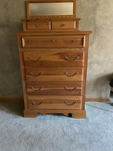 7 Drawer Tall Chest with Mirror in Joliet, Illinois