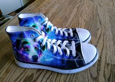 new girls coloranimal high top canves shoes in 29 Palms, California