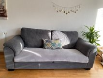 grey ikea couch in Ramstein, Germany