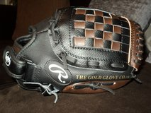 """Rawlings Youth Synthetic Black/Brown Baseball Glove (11"""") in Fort Campbell, Kentucky"""