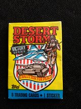Topps trading cards desert Storm victory series in Yucca Valley, California