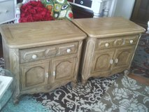 END TABLES BED ROOM TABLES PERFECT IN EVERY WAY SET OF TWO ,EACH HAS A in Westmont, Illinois