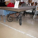 An Imressive Metal Table.         Article number: 046207 in Ramstein, Germany