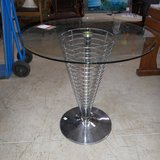 A Designer Glass Table.       Article number: 046202 in Ramstein, Germany