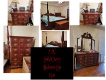 7 piece Solid Cherry Bedroom Set in Byron, Georgia